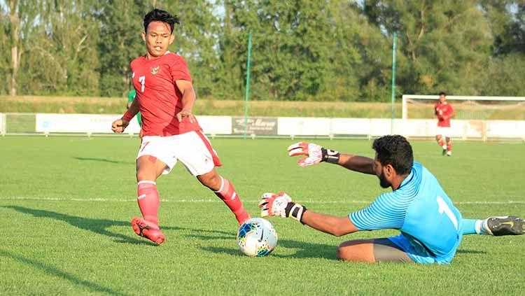Timnas Indonesia U-19 mendapatkan sorotan tajam media Malaysia seusai melakoni tiga laga bertajuk International U-19 Friendly Tournament 2020. Copyright: © PSSI