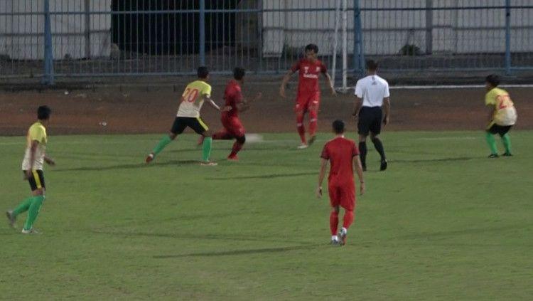 PSHW saat berhasil mengalahkan Madura United 3-1 pada laga uji coba. Copyright: © Official PSHW