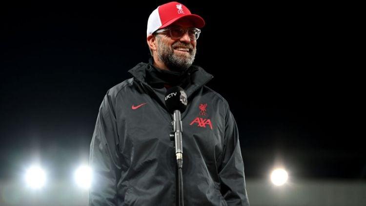 Pelatih Liverpool, Jurgen Klopp, kini tengah gusar, usai timnya gagal menang dari tim papan tengah Liga Inggris, Brighton, yang berujung pada pembelian bek baru. Copyright: © Shaun Botterill/Getty Images