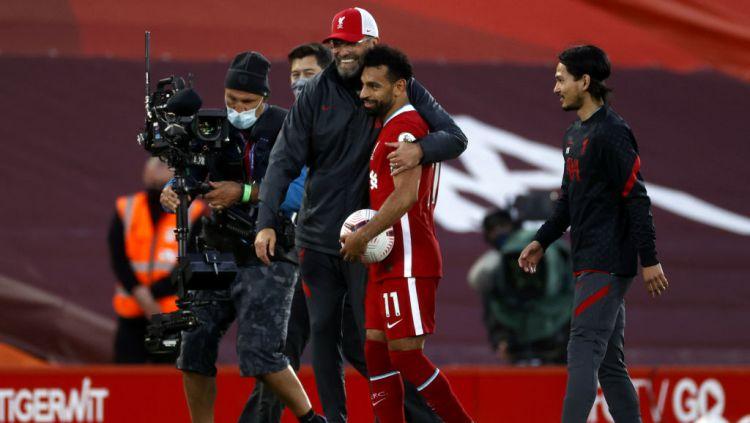 Moh Salah dan Mbappe Jadi Efek Domino Jika Lionel Messi Pergi dari Barcelona Copyright: © Phil Noble/PA Images via Getty Images