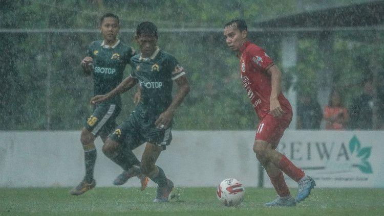 Uji coba Tira Persikabo saat melawan Persija Jakarta. Copyright: © Persija/Kahirul Imam