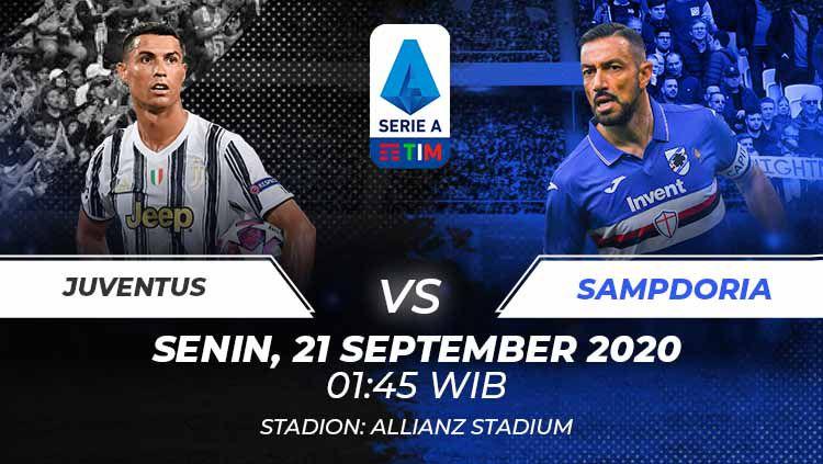 Link Live Streaming Serie A: Juventus vs Sampdoria Copyright: © Grafis:Frmn/Indosport.com