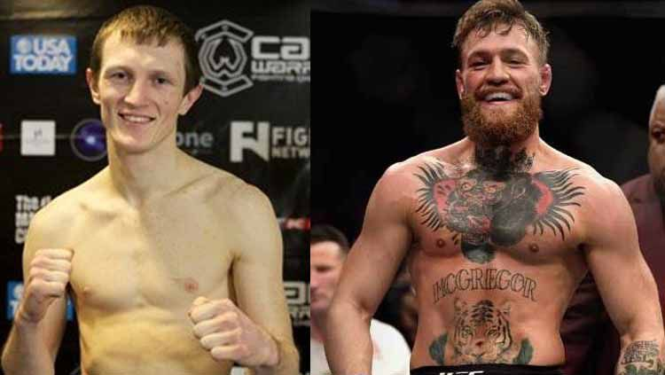 Meskipun namanya kini kurang terkenal, Artemij Sitenkov akan selalu tercatat sebagai petarung MMA pertama yang mampu tundukkan Conor McGregor. Copyright: © Grafis:Frmn/Indosport.com