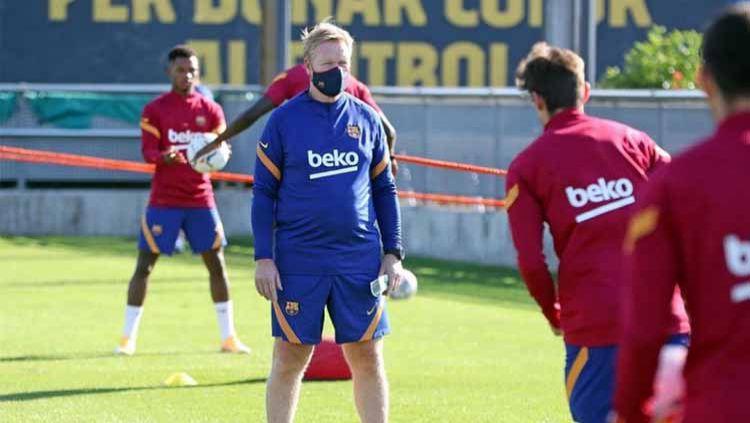 Banyak Intervensi, Ronald Koeman Sudah Tak Betah Lagi Di Barcelona? Copyright: © Instagram@ronaldkoeman Verified