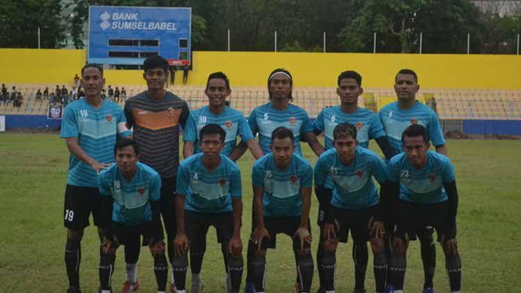 Tim Liga 2 kebanggaan masyarakat Sumsel, Sriwijaya FC merayakan jadinya ke-16, pada 23 Oktober 2020 lalu. Copyright: © Muhammad Effendi/INDOSPORT