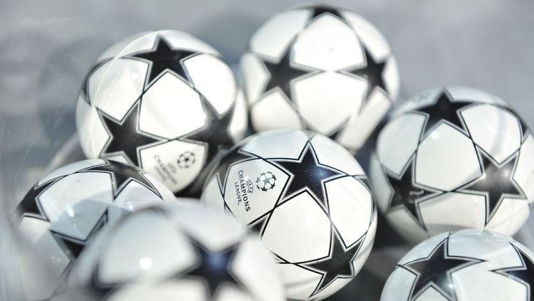 Bola drawing Liga Champions Copyright: © Harold Cunningham/Getty Images for UEFA