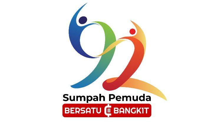 Logo Hari Sumpah Pemuda ke-92 tahun 2020. Copyright: © Menpora
