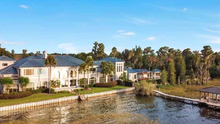 Rumah besar Shaquille O'Neal di area Danau Butler di Isleworth, Florida. Copyright: © ATLAS TEAM/COMPASS
