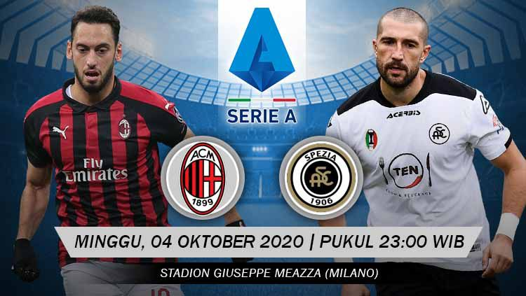 Link Live Streaming Pertandingan Serie A Italia Ac Milan Vs Spezia Indosport