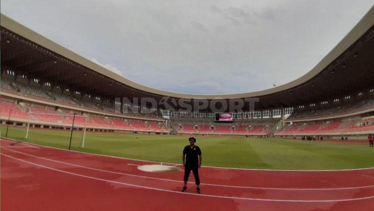 Sejumlah venue yang dipersiapkan untuk menggelar pertandingan dalam ajang Pekan Olahraga Nasional (PON) XX di Papua tahun 2021 sudah rampung. Copyright: © Sudjarwo/INDOSPORT