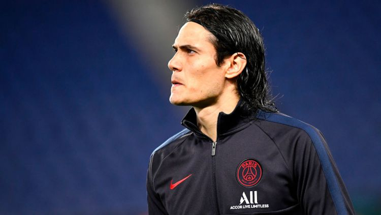 Edinson Cavani Copyright: © Aurelien Meunier - PSG/PSG via Getty Images