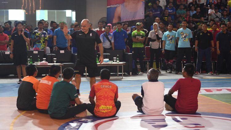 Acara Jr. NBA Coaches Academy di Surabaya pada Februari 2020. Copyright: © Jr. NBA