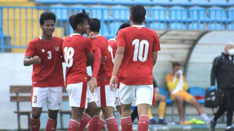 Berikut hasil pertandingan persahabatan Timnas Indonesia U19 lawan Hajduk Split. Copyright: © Bandung Saputra/PSSI