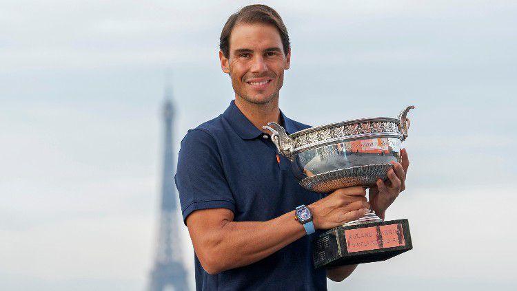 Rafael Nadal juara Prancis Terbuka 2020. Copyright: © Aurelien Meunier/Getty Images