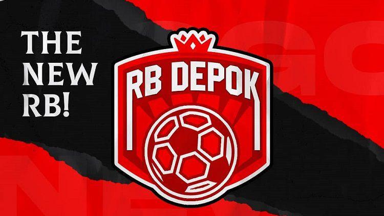 Logo klub Liga 3, RB Depok FC. Copyright: © Instagram