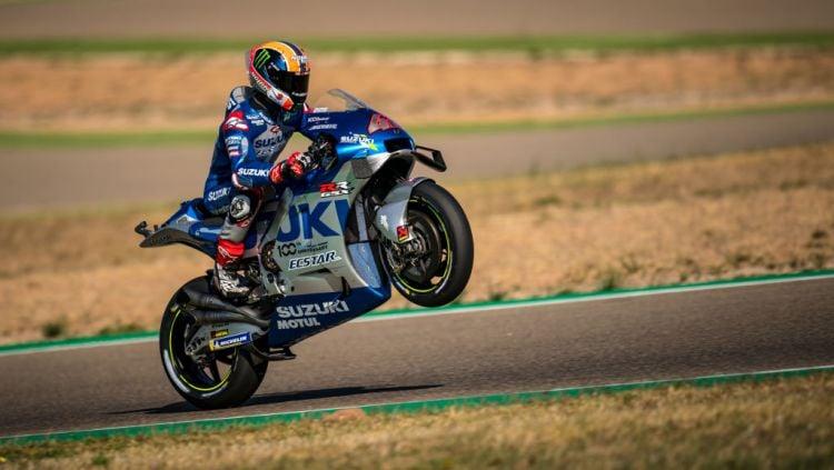Alex Rins start kedua di MotoGP Portugal 2021. Copyright: © Steve Wobser/Getty Images