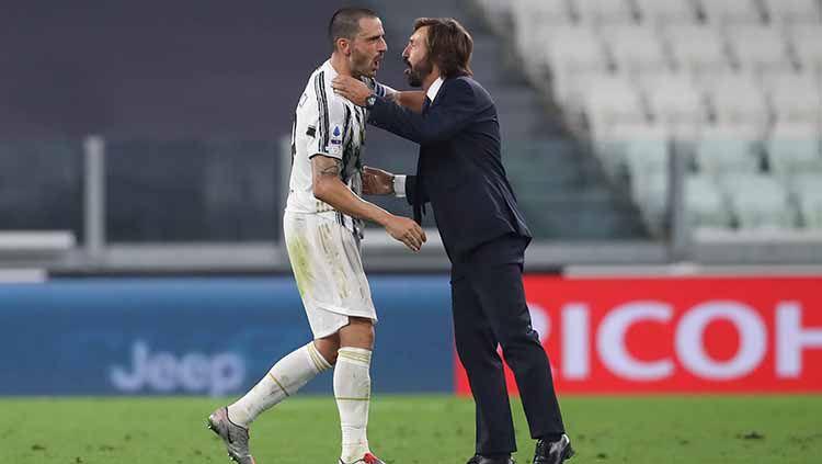 Nekat, Andrea Pirlo Ogah Mundur meski Juventus Kian Memprihatinkan Copyright: © Jonathan Moscrop/Getty Image