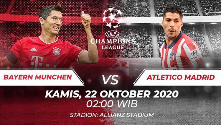 Bayern Munchen vs Atletico Madrid. Copyright: © Grafis:Frmn/Indosport.com