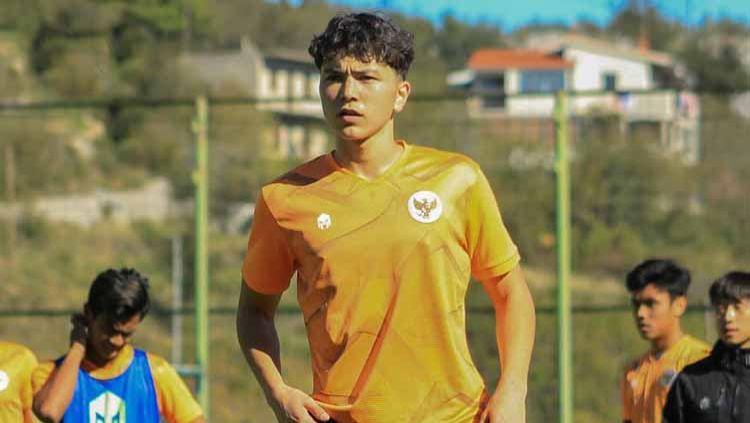 Kelana Noah Mahessa, eks timnas Indonesia U-19 yang telah resmi bergabung dengan salah satu klub Liga Jerman. Copyright: © PSSI