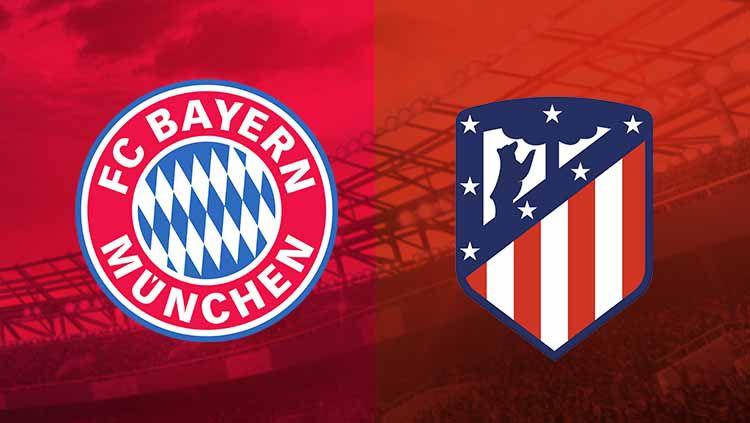 Bayern Munchen memiliki peluang yang lebih besar untuk mengalahkan Atletico Madrid di ajang Liga Champions musim 2020/21. Copyright: © Grafis:Frmn/Indosport.com