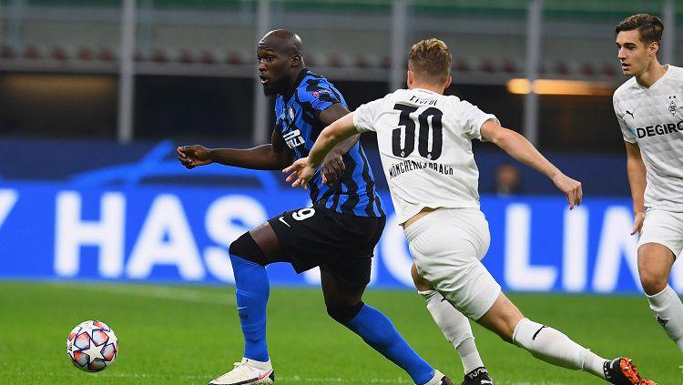 Berikut hasil pertandingan antara Inter Milan vs Monchengladbach dalam matchday pertama Grup B Liga Champions 2020/21, Kamis (22/10/20) dini hari WIB. Copyright: © Twitter @Inter