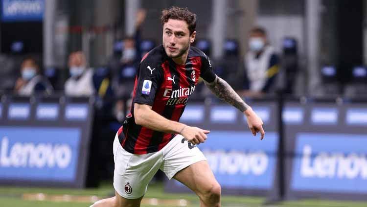 Davide Calabria, Pemain AC Milan Copyright: © Sportinfoto/DeFodi Images via Getty Images