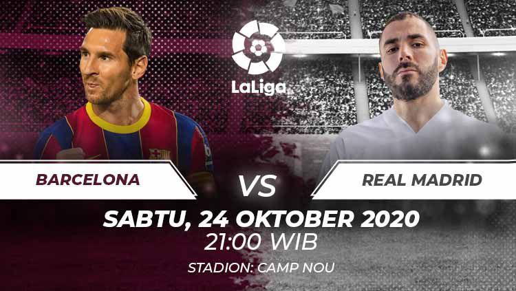 Link Streaming Barcelona Vs Real Madrid Penebusan Dosa Los Blancos Indosport