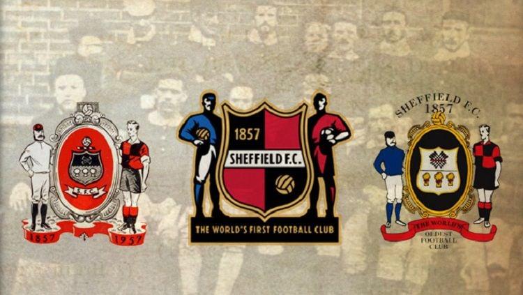 Sheffield FC, klub sepak bola tertua di dunia yang masih eksis. Copyright: © Shefield FC