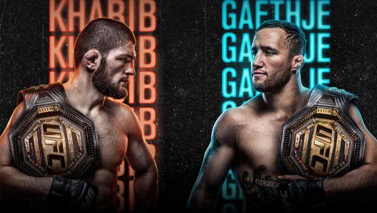 Berikut link live streaming pertarungan Ultimate Fighting Championship (UFC) 254 pada Sabtu (24/10/20) dan Minggu (25/10/20) dini hari WIB. Copyright: © Instagram@ufc