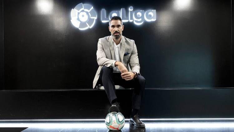 Mantan pemain Real Madrid, Fernando Sanz. Copyright: © LaLiga