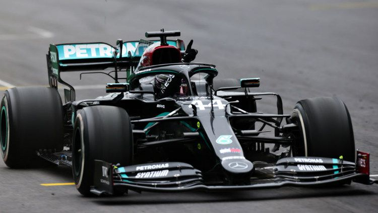 Berikut hasil kualifikasi F1 GP Hungaria 2021, di mana Lewis Hamilton berhasil meraih pole position pada Sabtu (31/07/21). Copyright: © Peter Fox/Getty Images