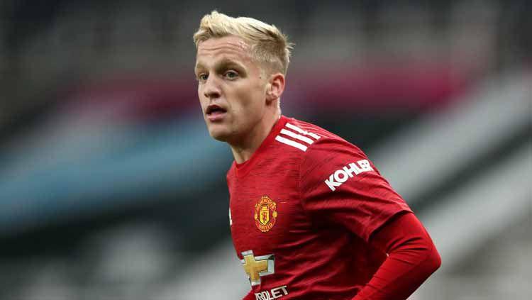 Donny van de Beek,pemain Manchester United. Copyright: © Alex Pantling/Getty Images