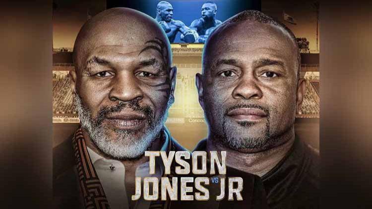 Mike Tyson vs Roy Jones Jr. Copyright: © Instagram@miketysonvsroyjonesjr