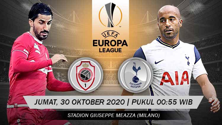 Prediksi Pertandingan Liga Europa: Antwerp vs Tottenham Hotspur Copyright: © Grafis: Yanto/Indosport.com