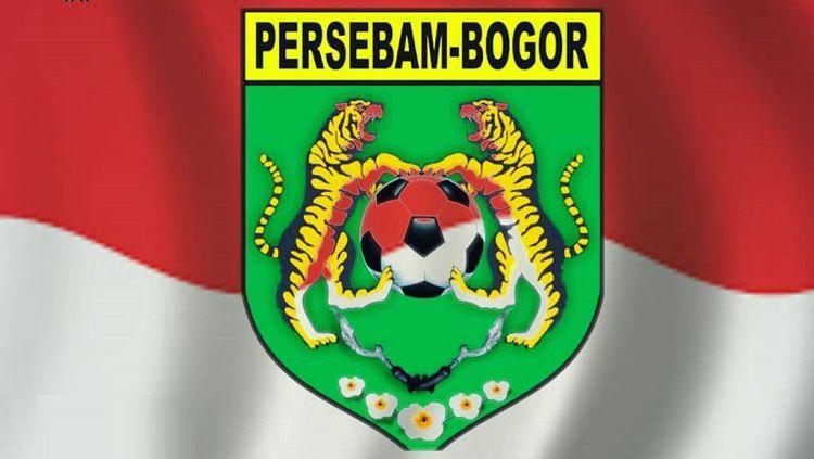 Logo klub Liga 3, Persebam Bogor. Copyright: © Instagram