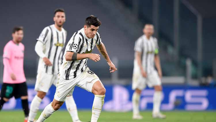 Setelah bertualang di tiga klub, Alvaro Morata kembali ke Juventus sebagai sosok yang lebih matang. Terbukti, kini ia menjadi top skor di skuat Si Nyonya Tua. Copyright: © Daniele Badolato - Juventus FC/Juventus FC via Getty Images