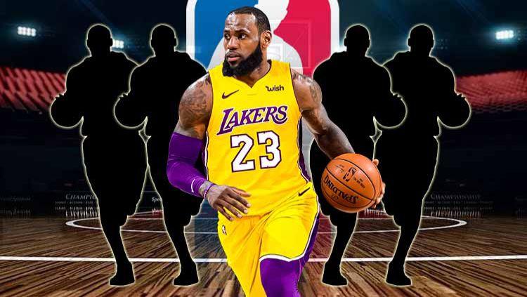 LeBron James. Copyright: © Grafis: Yanto/Indosport.com