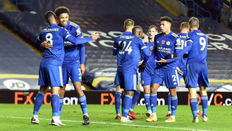 Berikut link live streaming pertandingan Liga Europa Grup G yang akan mempertemukan Braga vs Leicester City. Copyright: © twitter.com/lcfc
