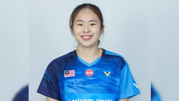 Pebulutangkis ganda campuran Malaysia, Pearly Tan mengaku masih belum bisa melupakan kemenangan atas pasangan Indonesia, Praveen Jordan/Melati Daeva Oktavianti. Copyright: © Badminton Association of Malaysia (BAM)