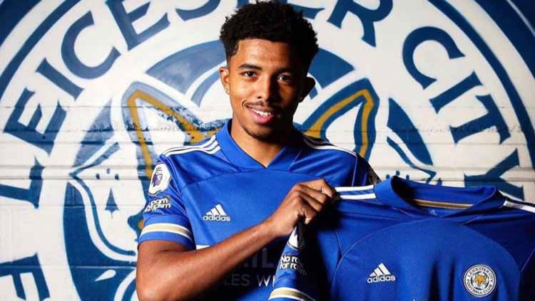 Bek muda andalan Leicester City, Wesley Fofana. Copyright: © Twitter@Wesley_Fofanaa