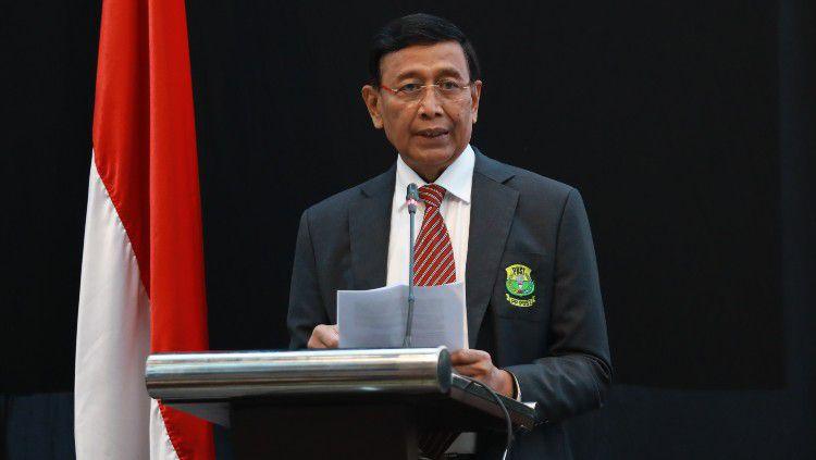 Ketua Umum PBSI periode 2016 - 2020, Wiranto mengungkapkan pertimbangannya tidak lagi mencalonkan diri di Musyawarah Nasional 2020. Copyright: © Humas PBSI