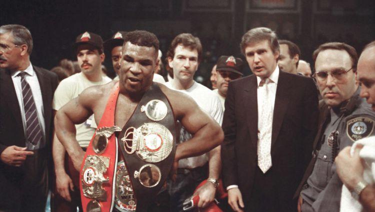 Mike Tyson mengenang masa kejayaan di tahun 1986. Copyright: © Jeffrey Asher/ Getty Images