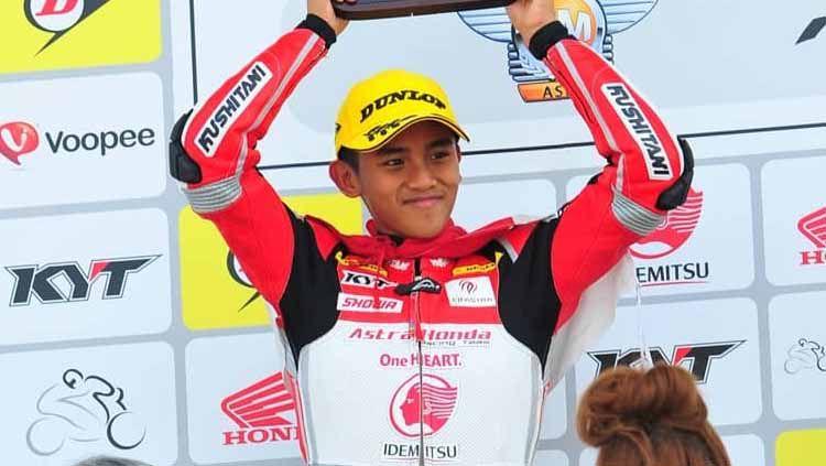Mario Suryo Aji, pembalap muda Indonesia Copyright: © Instagram/Mario Suryo aji
