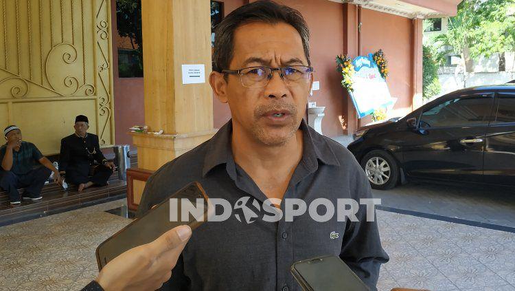 Pelatih Persebaya Surabaya, Aji Santoso. Copyright: © Fitra Herdian Ariestianto/INDOSPORT