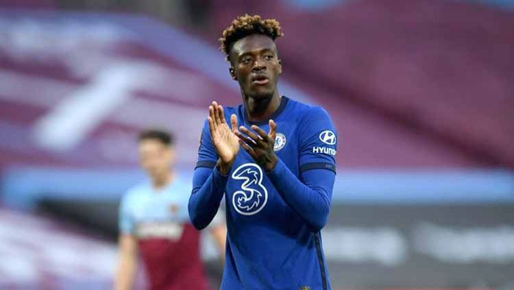 Tammy Abraham, pemain Chelsea. Copyright: © Twitter@SW6Daily