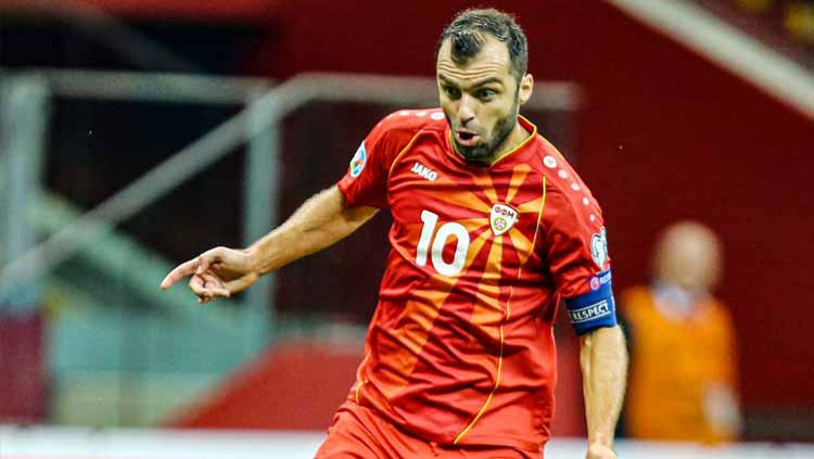 Goran Pandev, pemain Timnas North Macedonia Copyright: © Twitter@Sportbuzzer