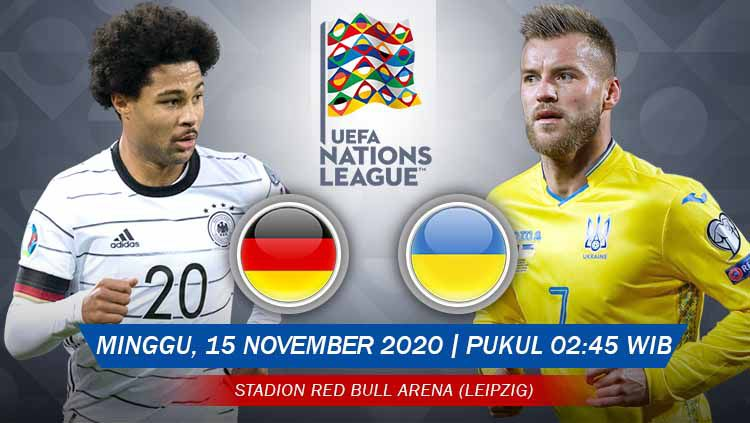Link live streaming UEFA Nations League antara Jerman vs Ukraina. Copyright: © Grafis: Yanto/Indosport.com
