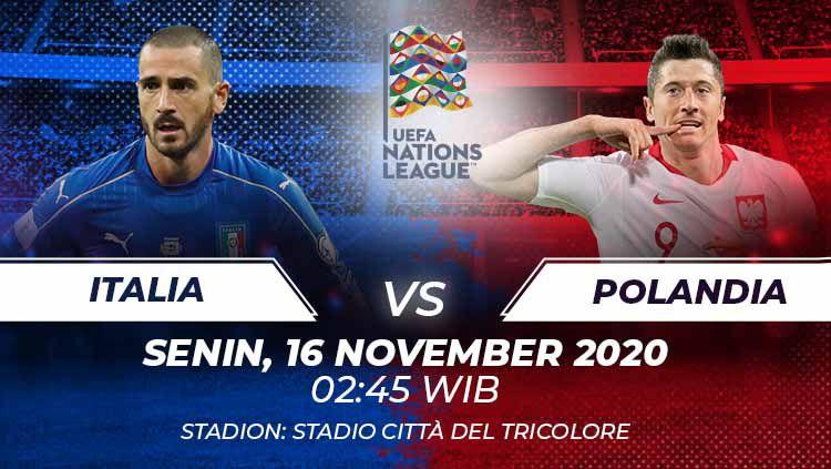 Link Live Streaming UEFA Nations League: Italia vs ...
