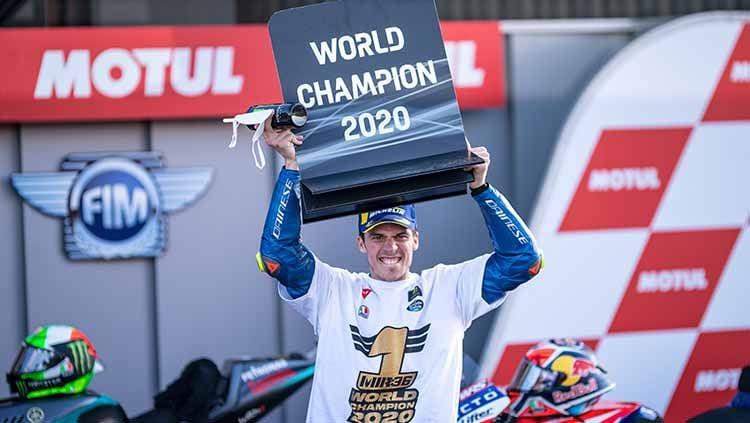 Joan Mir, juara motogp 2020 Copyright: © Getty Images/Steve Wobes