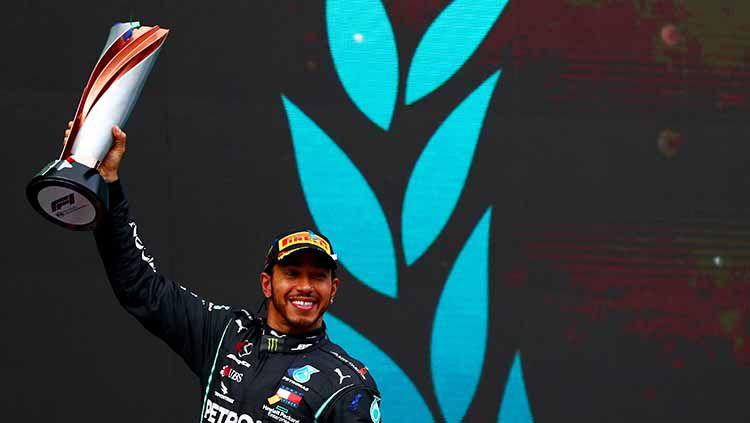 Lewis Hamilton, juara F1 2020 Copyright: © Dan Istitene - Formula 1/Formula 1 via Getty Images